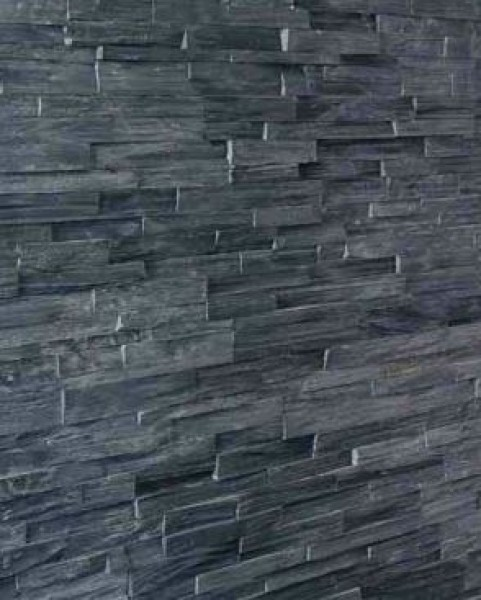 Muurpanels Black Slate